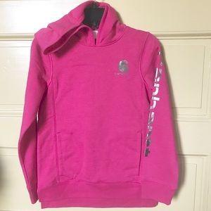 Carhartt magenta hot pink heather hoodie M
